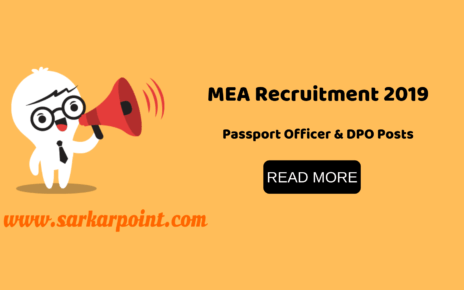 MEA Recruitment