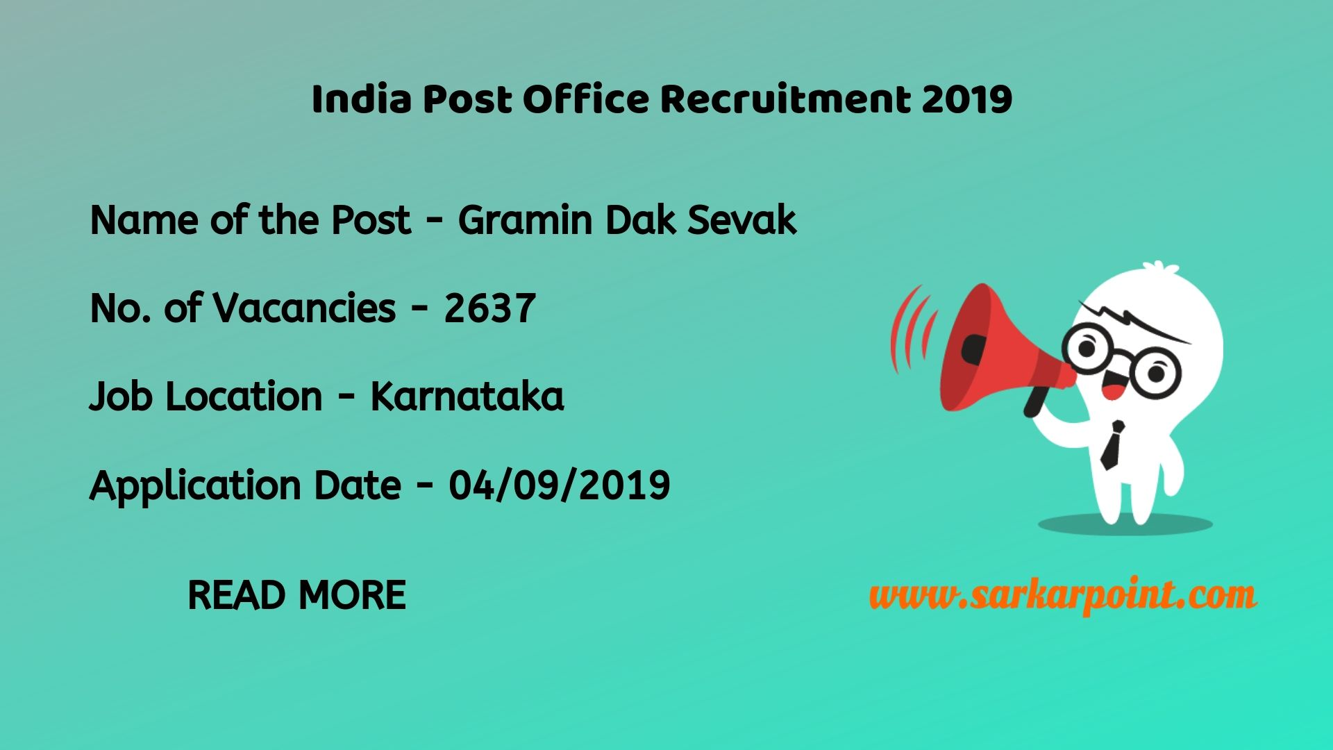 India Post Office Recruitment 2019 | Various Post Office