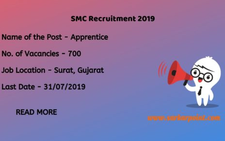 SMC Recruitment 2019 PDF