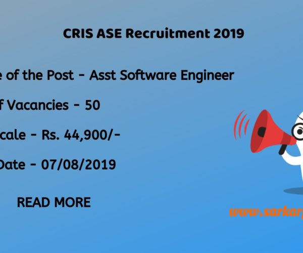 cse recruitment through gate 2019
