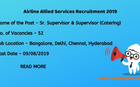 alliance air recruitment 2019