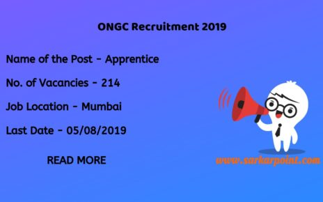 ongc apprentice vacancy 2019