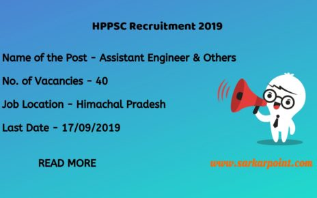 hppsc assistant engineer recruitment 2019
