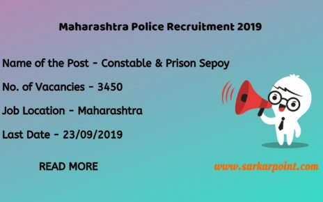 Maharashtra Police Constable Recruitment 2019