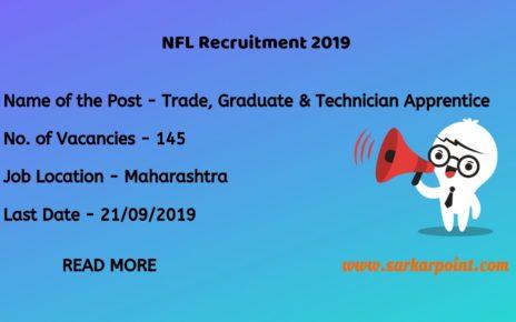 nfl apprentice recruitment 2019