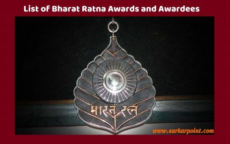 List of Bharat Ratna Awards