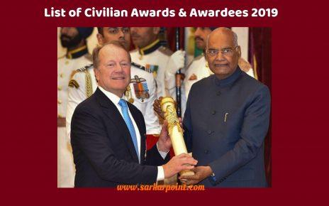 List of Civilian Awards & Awardees 2019