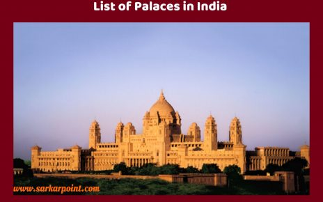 List of Palaces in India