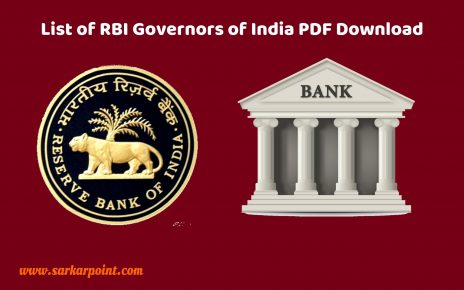 List of RBI Governors of India