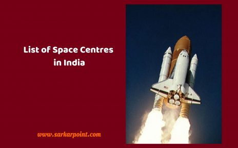 List of Space Centres in India