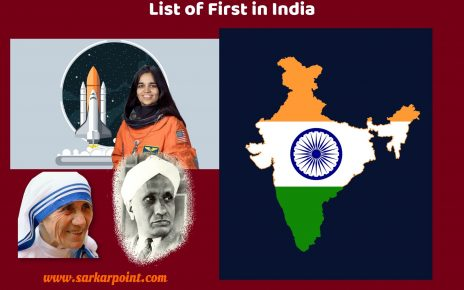 List of First in India